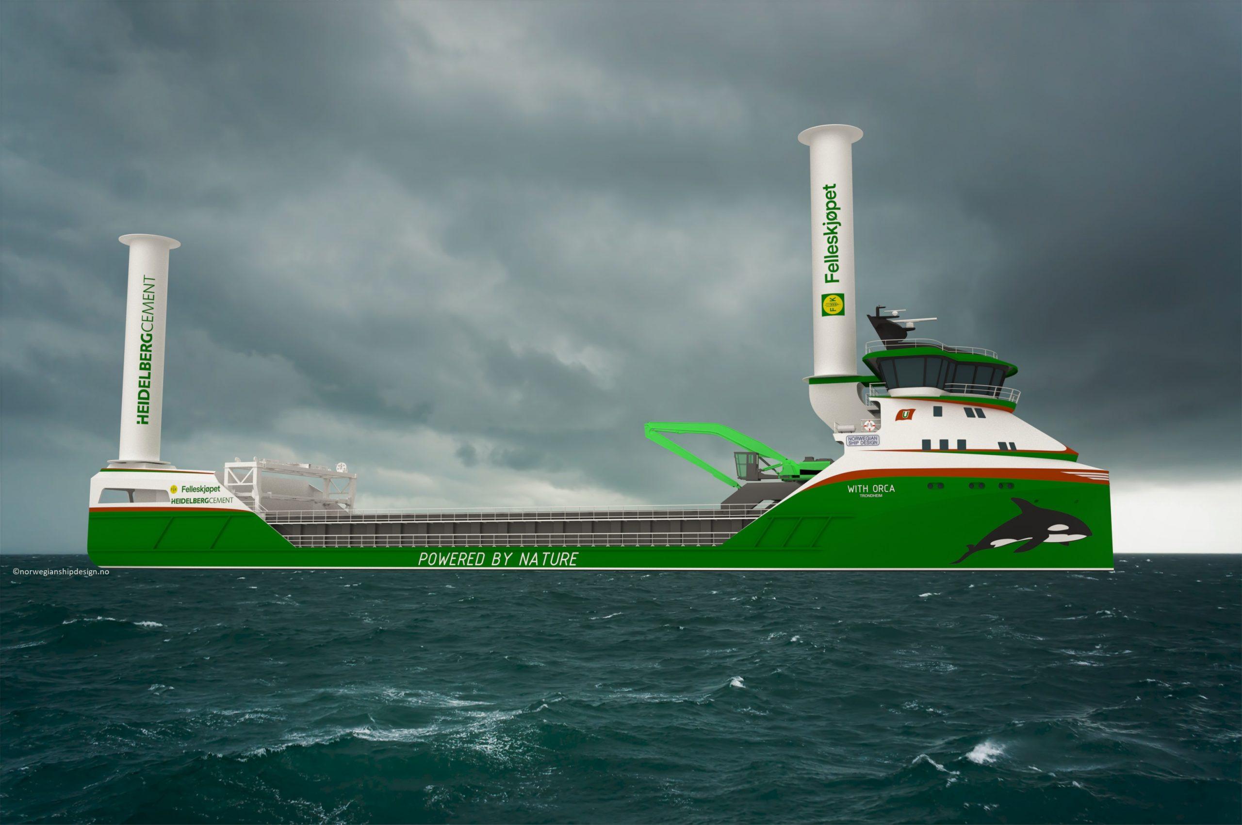Egil Ulvan Rederi skal realisere verdens første hydrogendrevne lasteskip